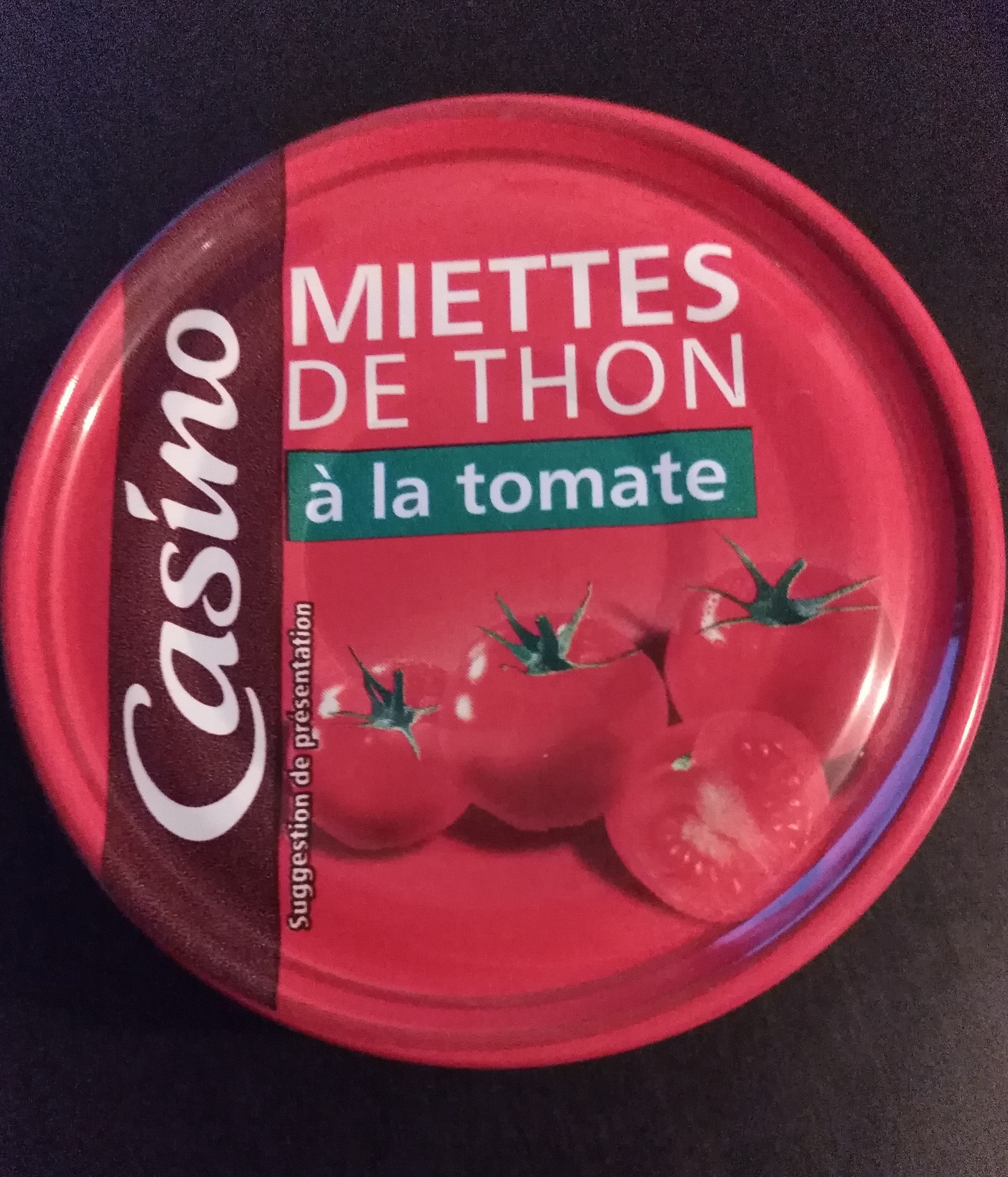 Miettes De Thon à La Tomate - Product - fr