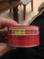 Miettes De Thon à La Tomate - Ingredients - fr