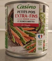 Petits pois et jeunes carottes à l'étuvée extra fins - Produit - fr