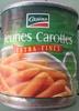 Jeunes carottes - Product