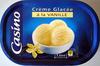 Crème glacée à la vanille Casino - Produit