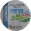 Crème Fraîche Épaisse Légère (15 % MG) - Product