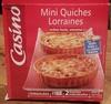2 Quiches lorraines - Lardons fumés, emmental, jambon - Produit