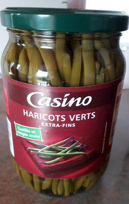Haricots verts extra-fins cueillis et rangés main - Produit - fr