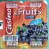 Yaourts & Fruits myrtille Au Lait Entier - Produit