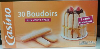 30 BOUDOIRS AUX OEUFS FRAIS - Produit - fr