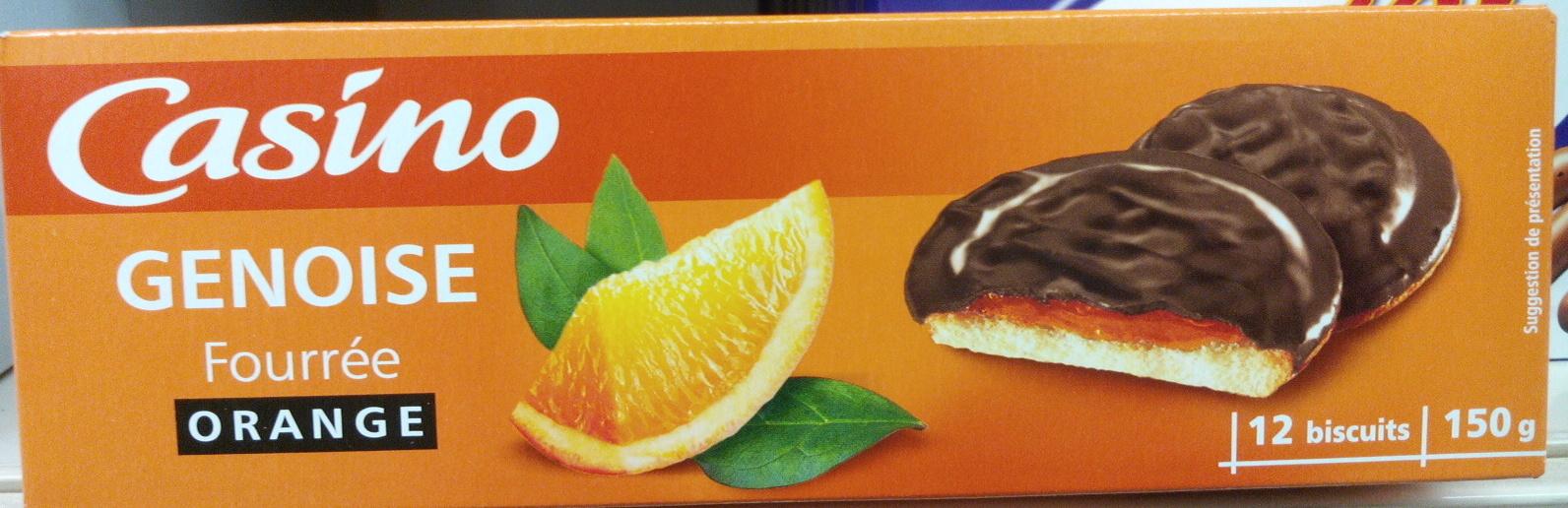 Génoise Fourrée Orange - Prodotto - fr