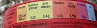 Miettes de thon à la tomate - Voedingswaarden - fr