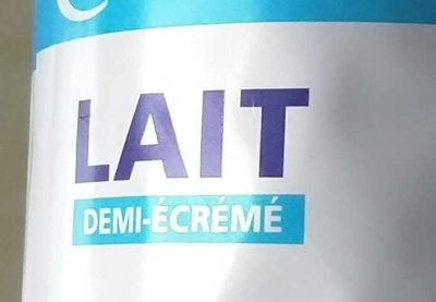 Lait Demi-Écrémé - Ingredients