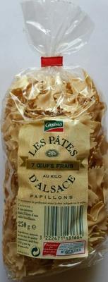 Les Pâtes d'Alsace Papillons (7 Œufs Frais au kilo) - Produit - fr