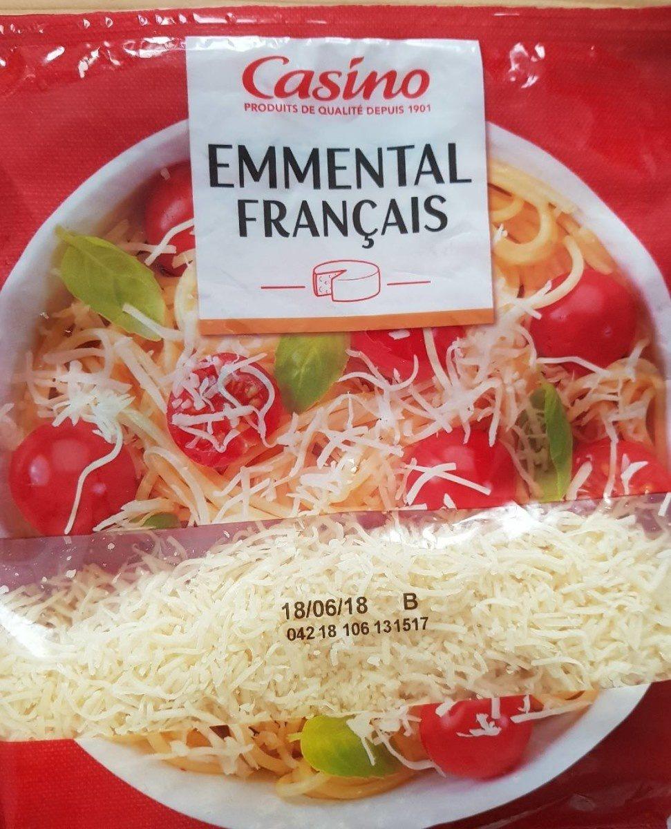 Emmental français râpé - Produit