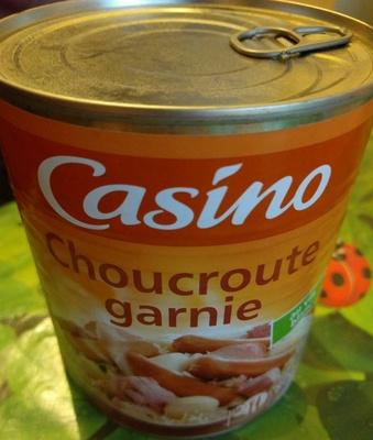 Choucroute garnie au vin blanc - Product
