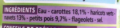 Macédoine de Legume - Ingredients - fr