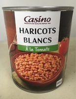 Haricots blancs à la tomate - Produit