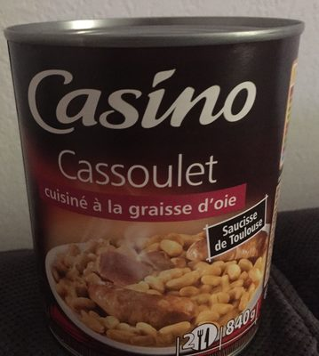 Cassoulet cuisiné à la graisse d'oie saucisse de Toulouse - Product