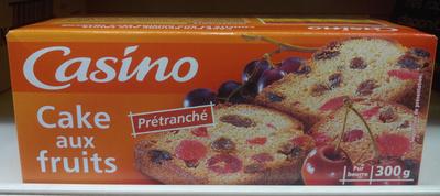 Cake aux fruits prétranché - Product