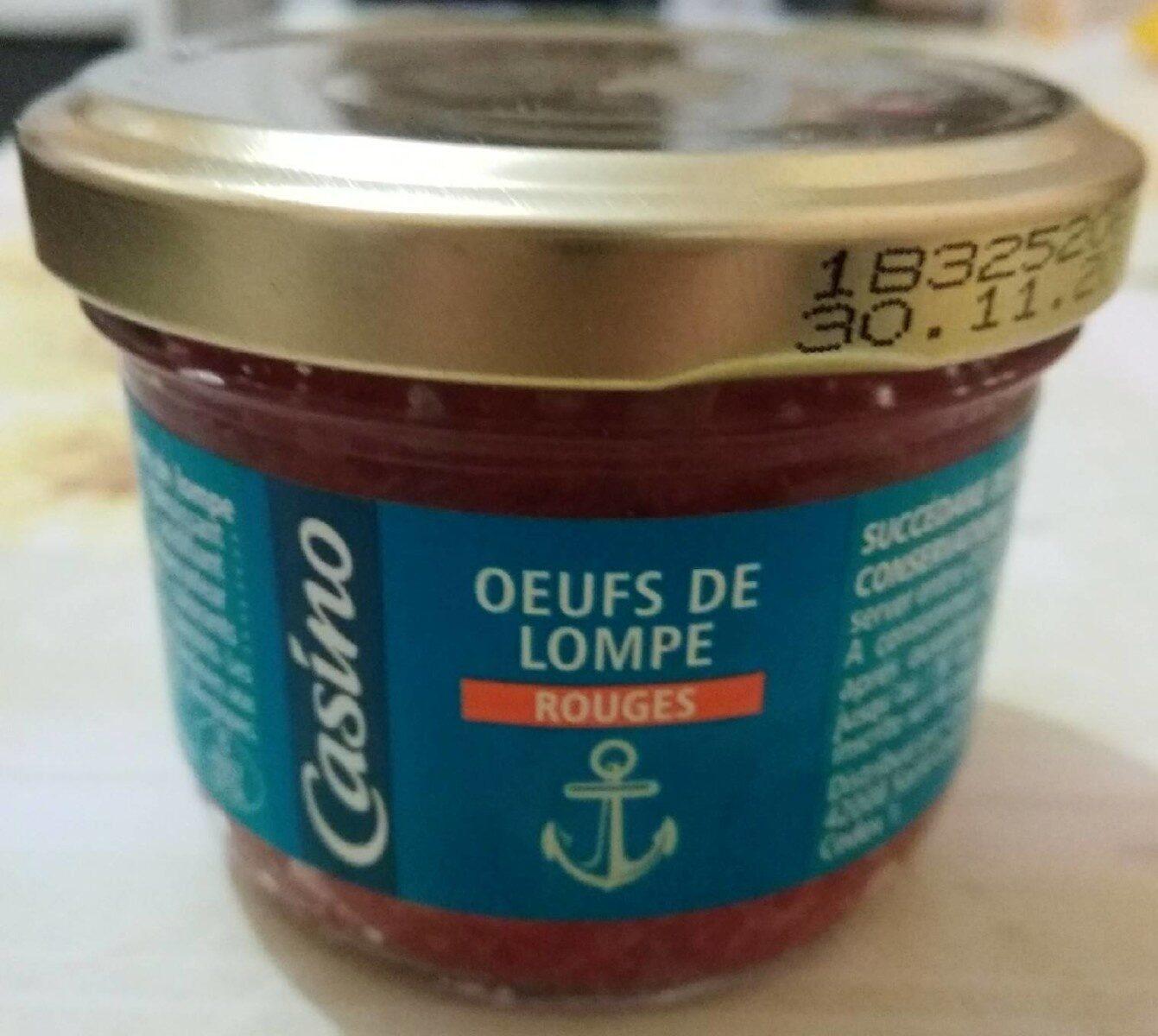 Œufs de lompe rouges - Product - fr
