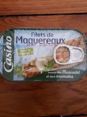 Filets de maquereaux au muscadet et aux arômates - Product