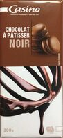 Chocolat noir dessert - Produit - fr