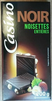 Noir noisettes entières - Produit