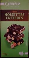 Chocolat Noir Noisettes entières - Product - fr