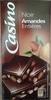 Chocolat noir amandes entières - Produit