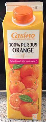 100% Pur Jus ORANGE - Produit