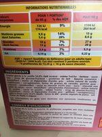 Profiteroles coeur de crème glacée à la vanille - Ingrédients