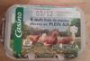 Oeufs frais de poules élevées en Plein Air (x 6) calibre Gros - Casino -
