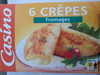 Crêpes au fromage - Product