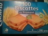 Biscottes au froment 100 Tranches - Product