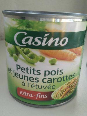 Petits pois extra-fins  et jeunes carottes à l'étuvée - Product