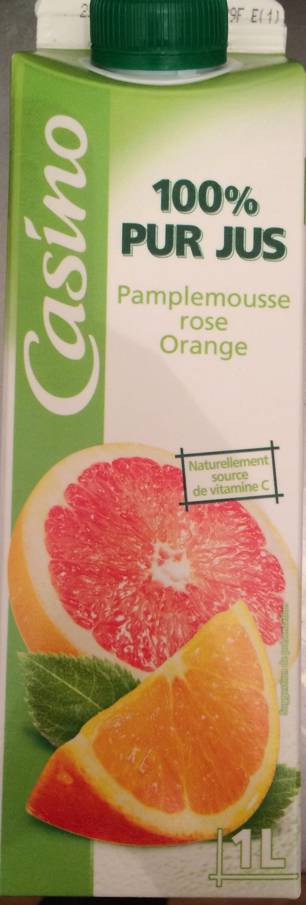 100% Pur Jus Pamplemousse rose Orange - Product