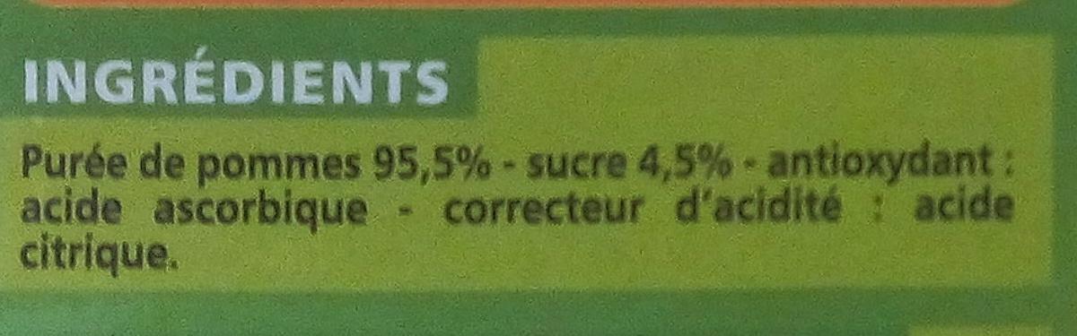 Compote Allégée Pommes - Inhaltsstoffe