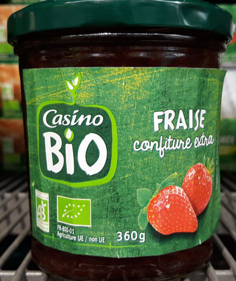 Confiture extra fraises bio - Producto