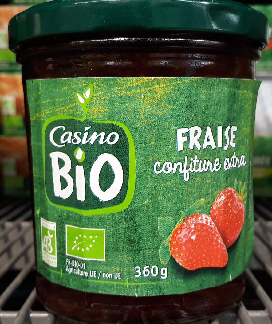 Confiture extra fraises bio - Produit