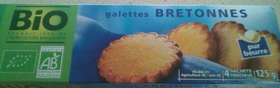 Galettes bretonnes BIO - Product