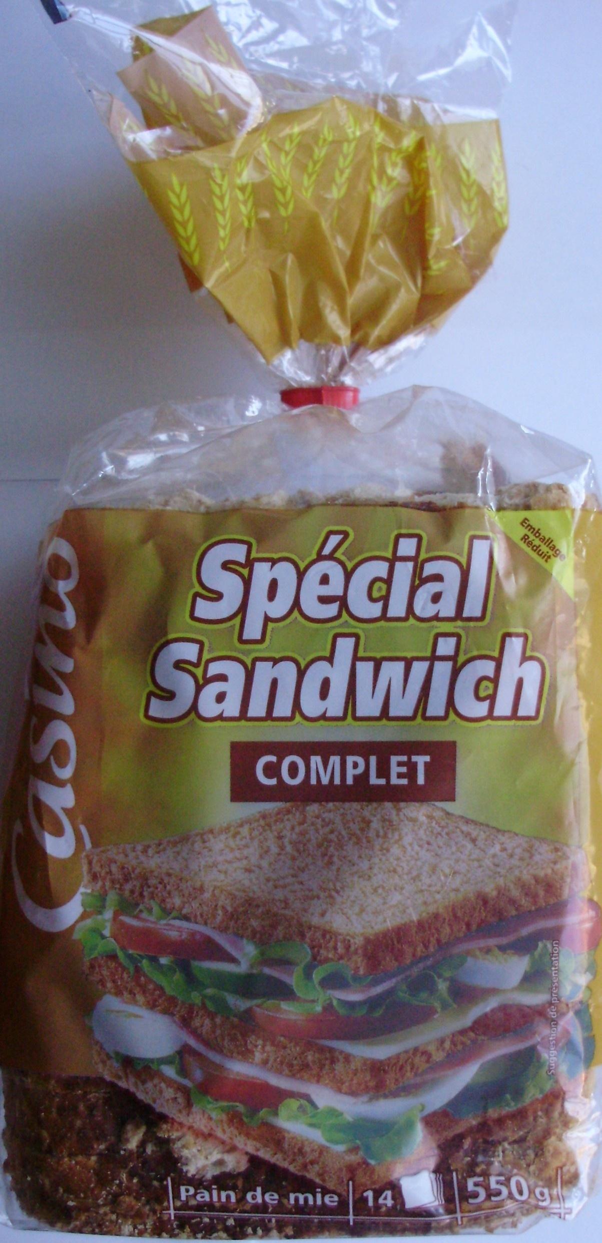 Spécial sandwich complet - Product