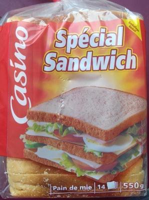 Pain de mie blanc - Special Sandwich - Produit - fr