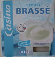 Yaourt brassé nature - Produit
