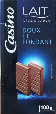chocolat lait dégustation - Produit - fr