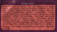 Riz à la cantonaise - Ingredients