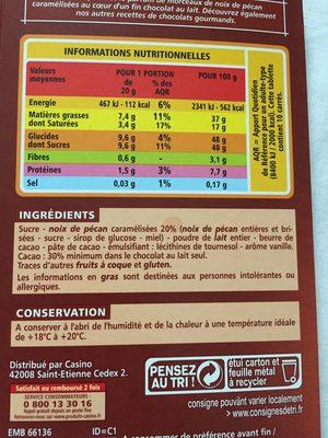 Lat noix de pécan caramélisées - Product
