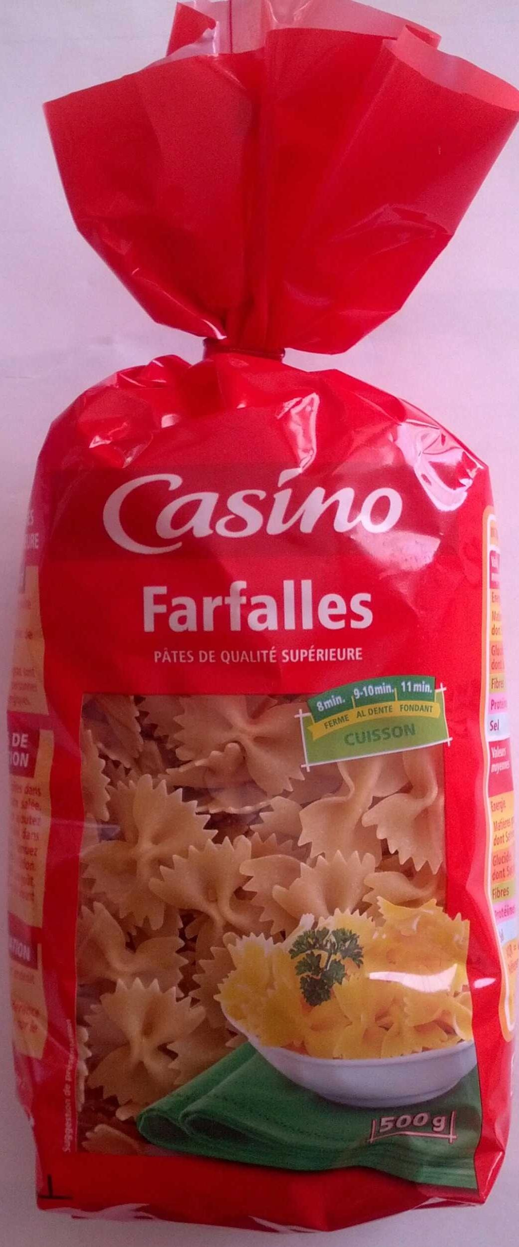 Farfalles - pâtes de qualité supérieure - Product - fr