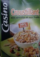 Casino croustillant aux céréales et aux fruits - Product - fr
