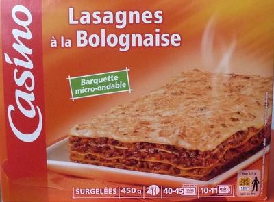 Lasagnes à la Bolognaise, Surgelées - Produkt