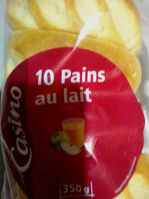 10 Pains au lait - Product - fr
