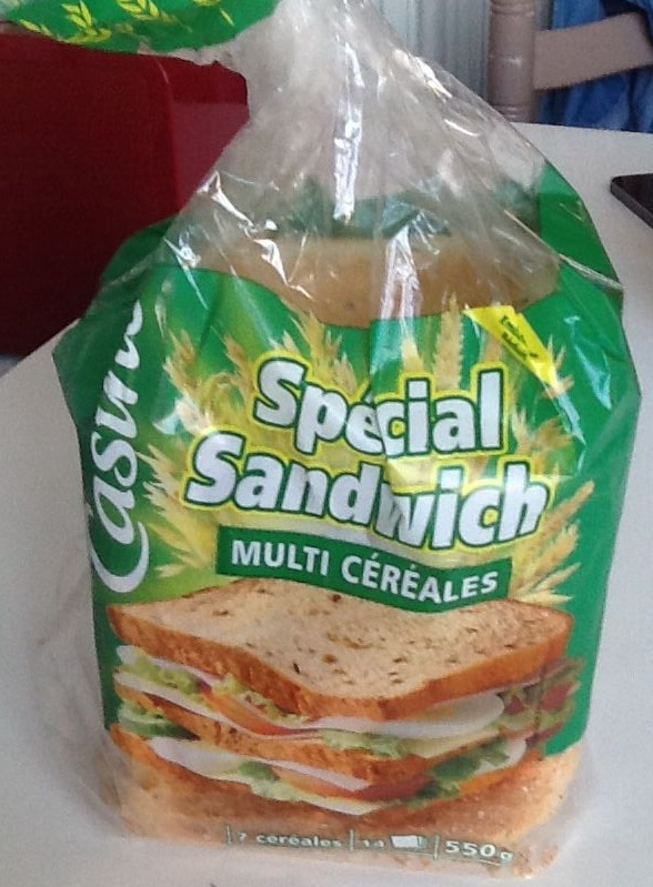 Spécial sandwich multicéréales - Produit - fr