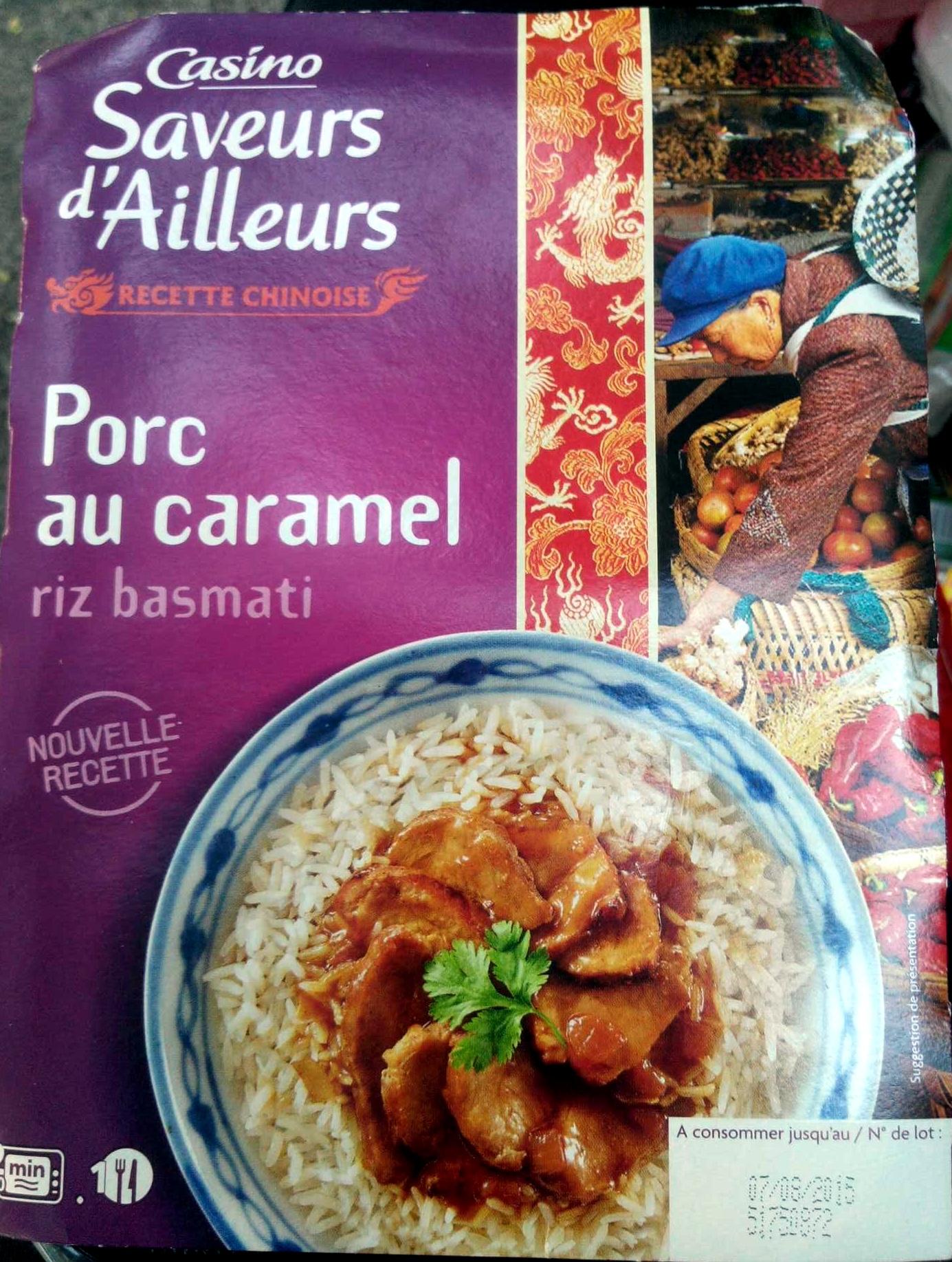 Porc au caramel et riz thaï - Product - fr