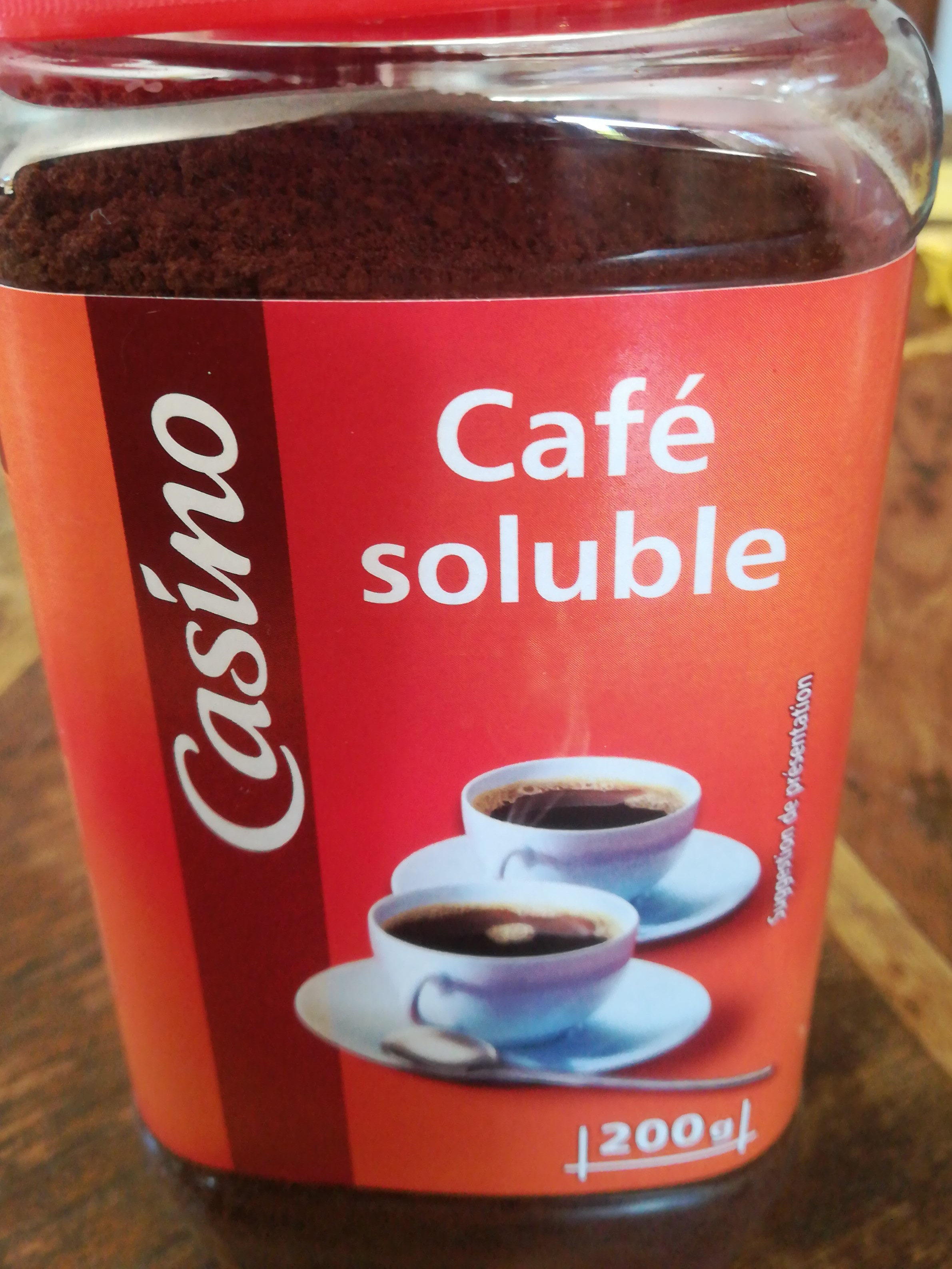 Café soluble - Product - fr